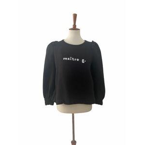 Goop G. Maitre G Sweatshirt Puff Sleeve Medium